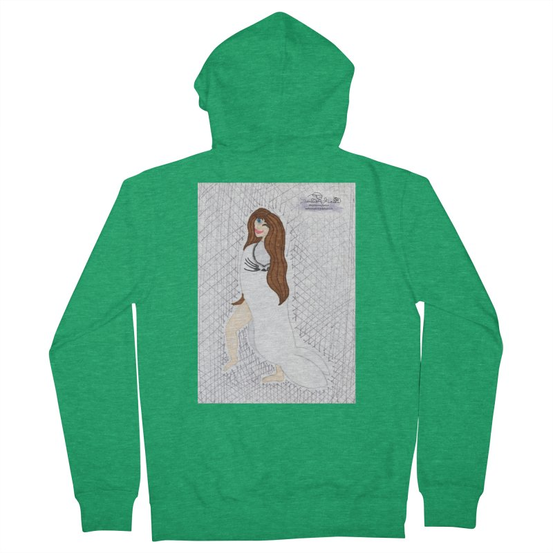 Silly Selkie Men's Zip-Up Hoody by THGStarDragon's Artist Shop