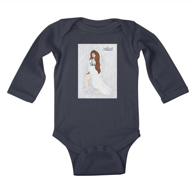 Silly Selkie Kids Baby Longsleeve Bodysuit by THGStarDragon's Artist Shop