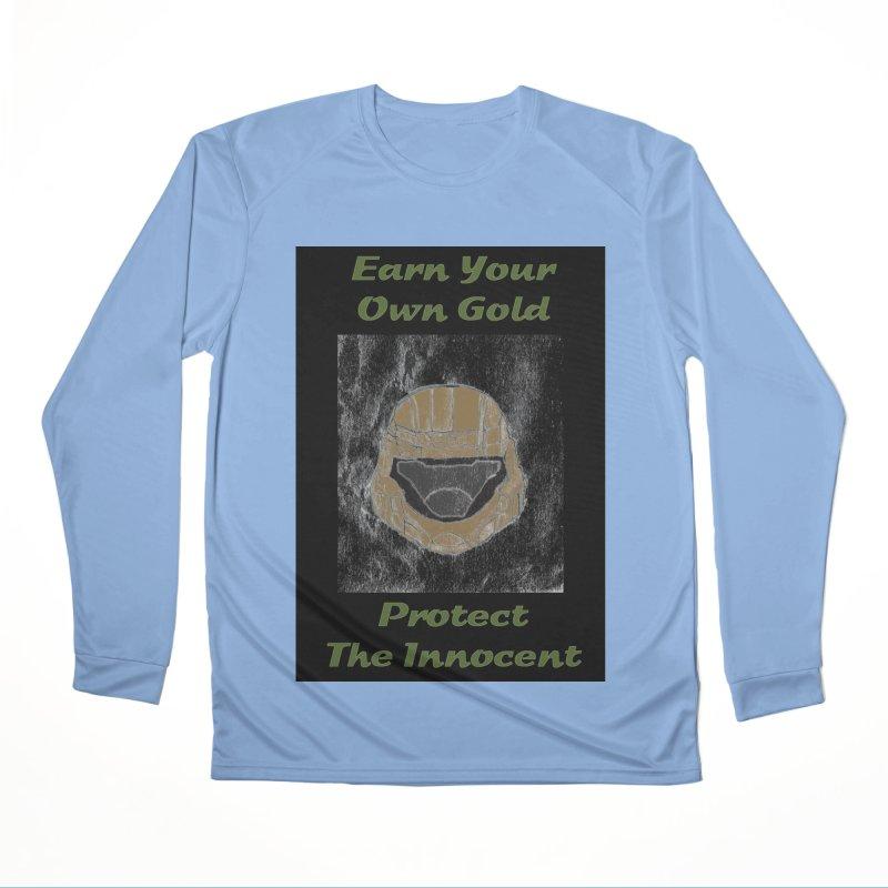 Earn Your Own Gold Women's Longsleeve T-Shirt by THGStarDragon's Artist Shop