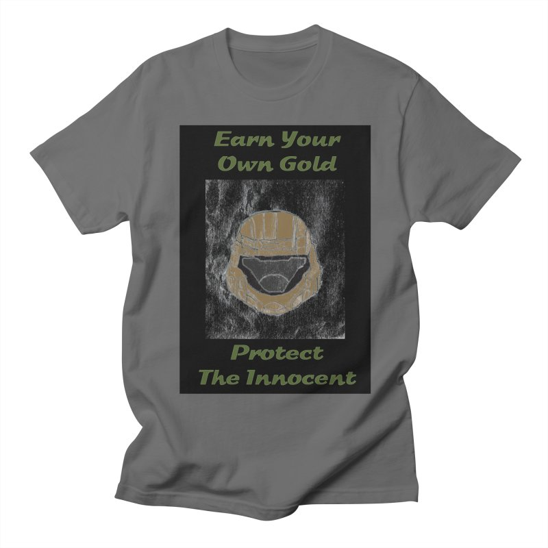 Earn Your Own Gold Men's T-Shirt by THGStarDragon's Artist Shop