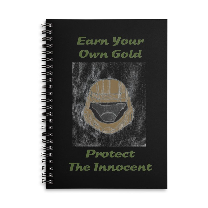 Earn Your Own Gold Accessories Notebook by THGStarDragon's Artist Shop
