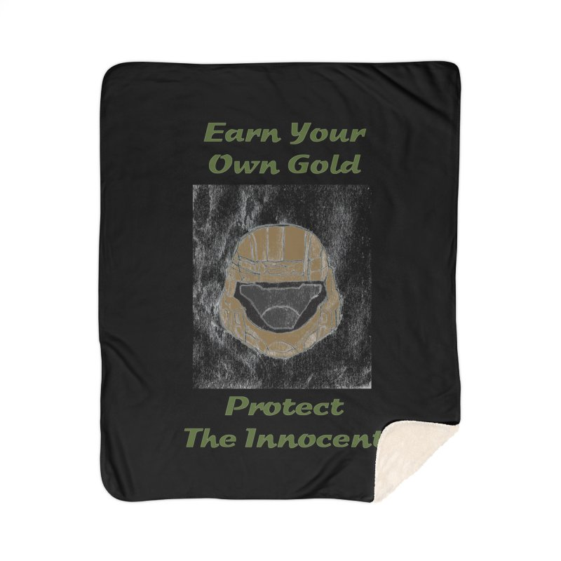 Earn Your Own Gold Home Blanket by THGStarDragon's Artist Shop