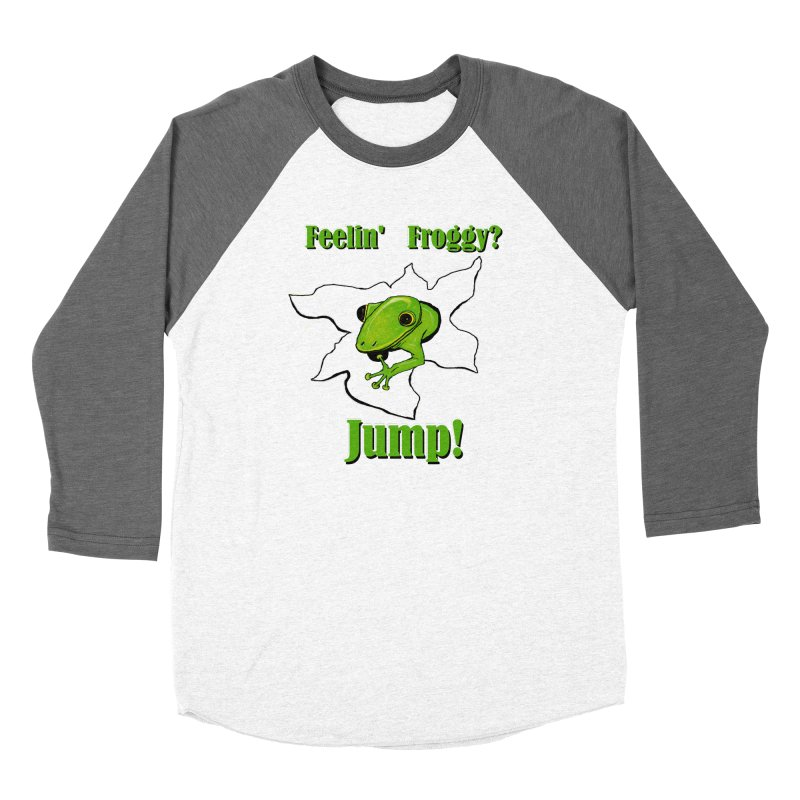 Feelin' Froggy Women's Longsleeve T-Shirt by TKK's Artist Shop