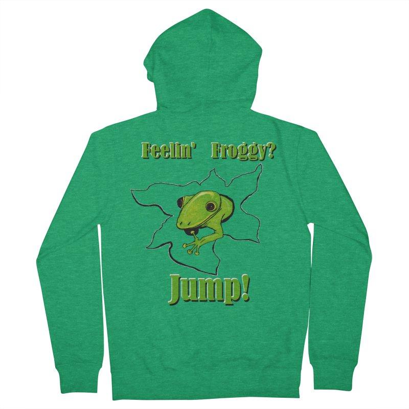 Feelin' Froggy Women's Zip-Up Hoody by TKK's Artist Shop