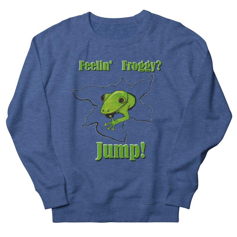 Feelin' Froggy Men's Sweatshirt by TKK's Artist Shop