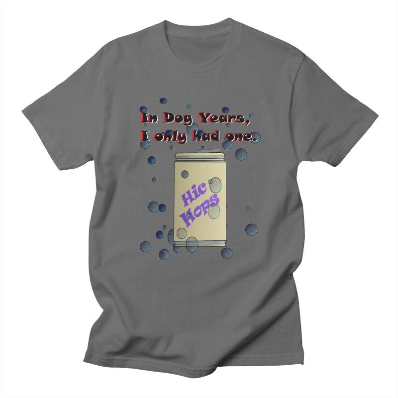 Dog Year Drinking Men's T-Shirt by TKK's Artist Shop