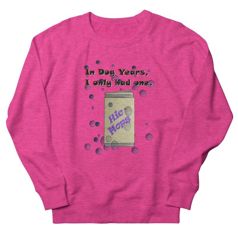 Dog Year Drinking Men's French Terry Sweatshirt by TKK's Artist Shop