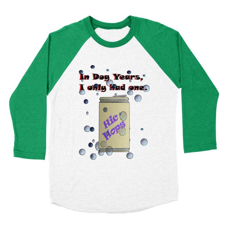Dog Year Drinking Men's Baseball Triblend Longsleeve T-Shirt by TKK's Artist Shop