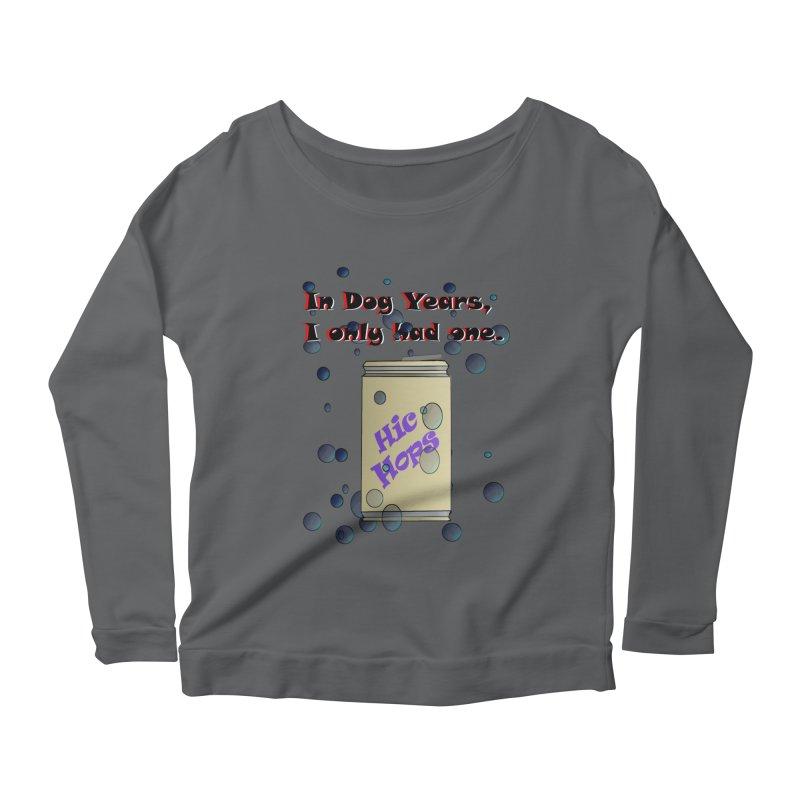 Dog Year Drinking Women's Longsleeve T-Shirt by TKK's Artist Shop