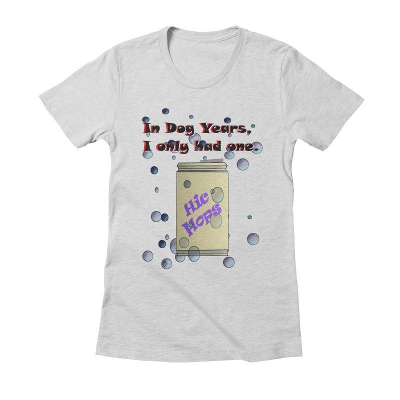 Dog Year Drinking Women's T-Shirt by TKK's Artist Shop
