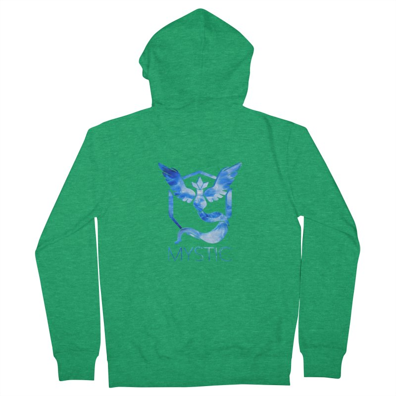 Pokémon Go Team Mystic Men's Zip-Up Hoody by TKK's Artist Shop