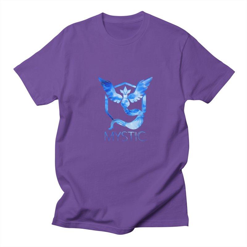 Pokémon Go Team Mystic Men's Regular T-Shirt by TKK's Artist Shop