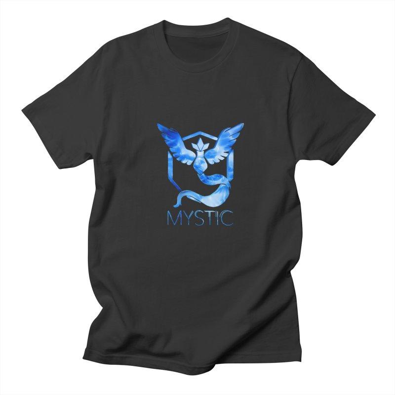 Pokémon Go Team Mystic Men's T-Shirt by TKK's Artist Shop