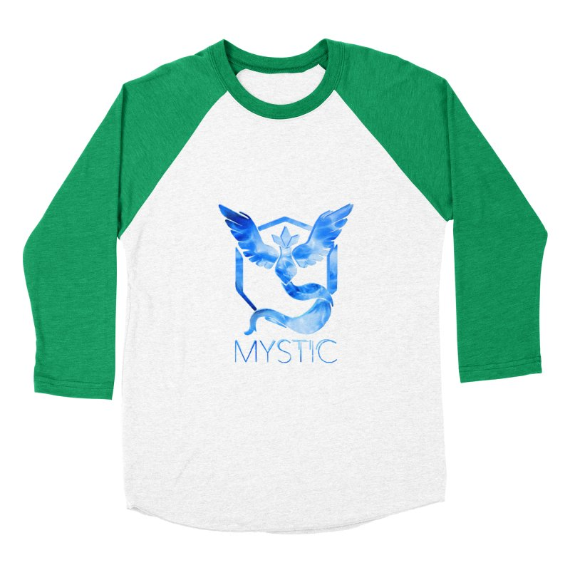 Pokémon Go Team Mystic Men's Baseball Triblend Longsleeve T-Shirt by TKK's Artist Shop