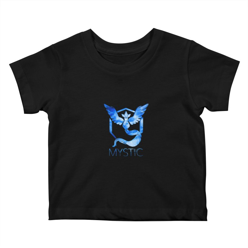 Pokémon Go Team Mystic Kids Baby T-Shirt by TKK's Artist Shop