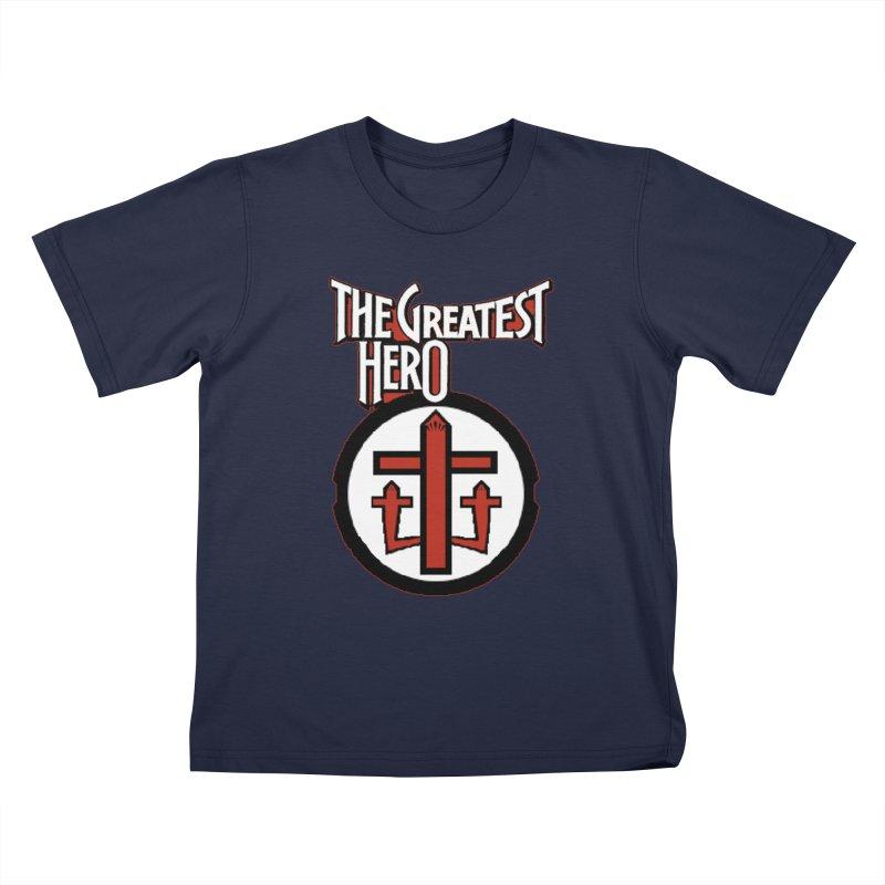 The Greatest Hero Kids T-Shirt by TKK's Artist Shop