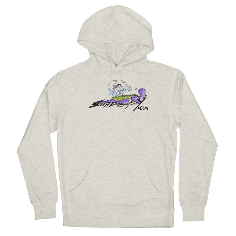 Sleepy Dragonfly's Fishing Adventures Logo with Fat Larry Men's Pullover Hoody by TKK's Artist Shop