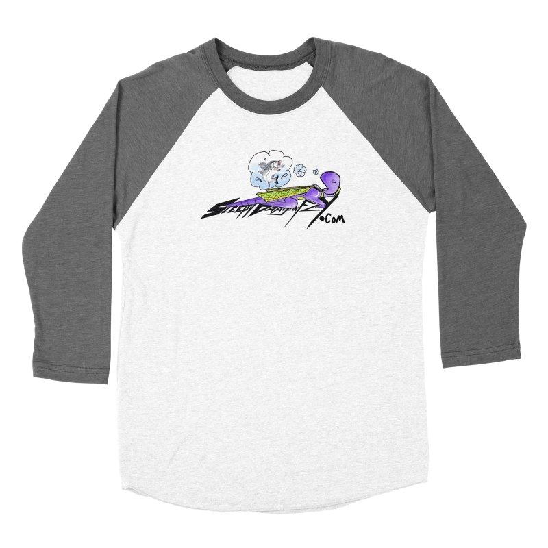 Sleepy Dragonfly's Fishing Adventures Logo with Fat Larry Women's Longsleeve T-Shirt by TKK's Artist Shop