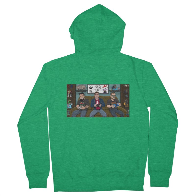 couch pals revamped! Women's Zip-Up Hoody by The Lan Party Talk Show