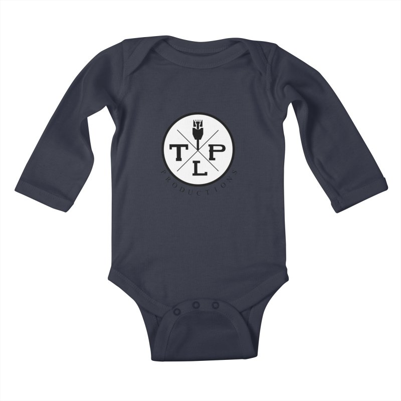 TLP Productions Kids Baby Longsleeve Bodysuit by The Lan Party Talk Show
