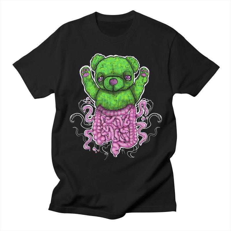 Teddy Testines Men's T-Shirt by TM's Artist Shop