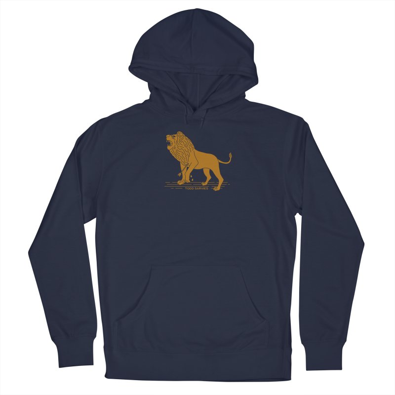 WOUNDED LION LOGO Women's Pullover Hoody by TODD SARVIES BAND APPAREL