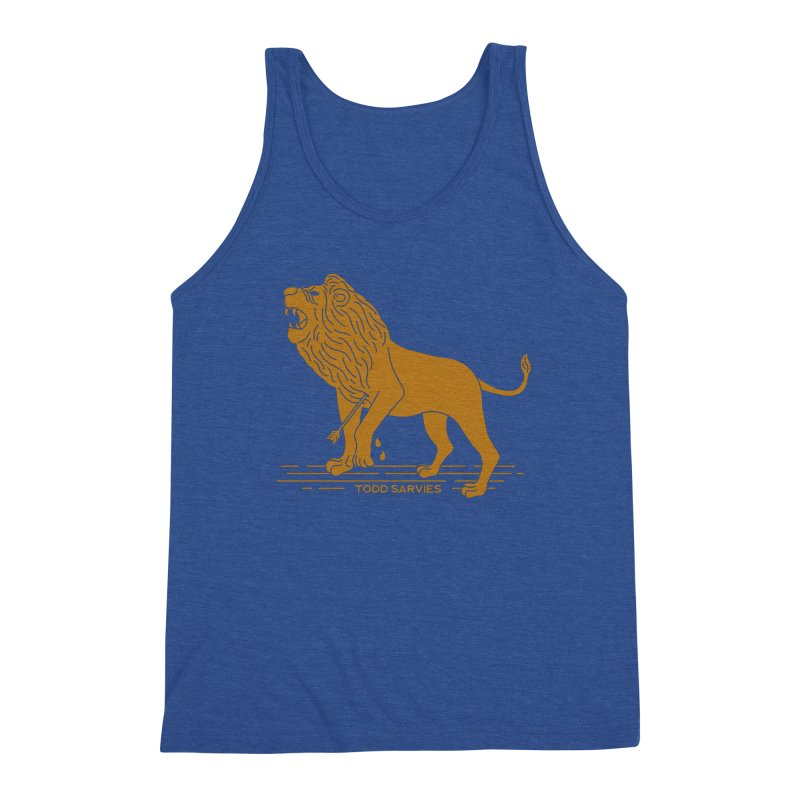 WOUNDED LION LOGO Men's Tank by TODD SARVIES BAND APPAREL