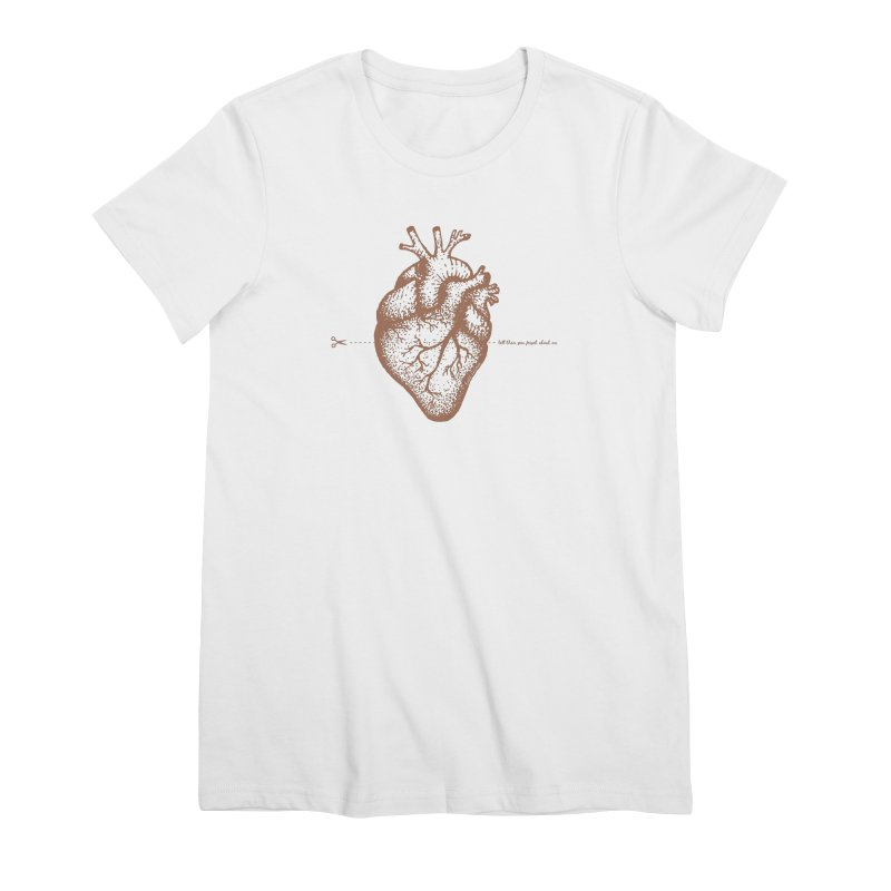 FLATLINE HEART Women's T-Shirt by TODD SARVIES BAND APPAREL