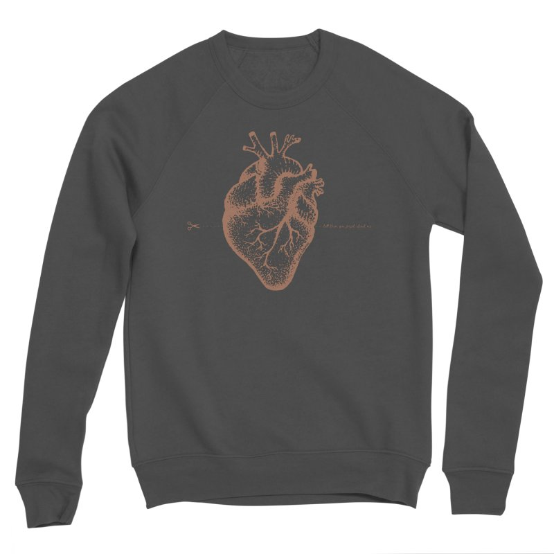 FLATLINE HEART Women's Sweatshirt by TODD SARVIES BAND APPAREL