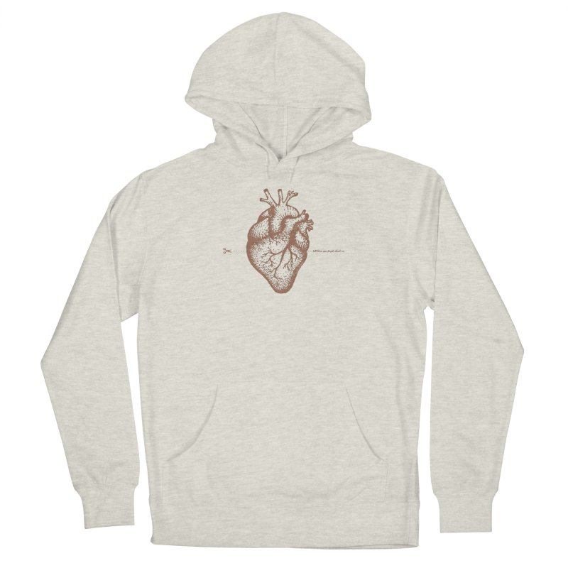 FLATLINE HEART Women's Pullover Hoody by TODD SARVIES BAND APPAREL