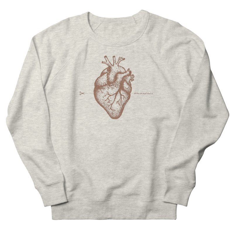 FLATLINE HEART Women's Sweatshirt by TODD SARVIES BAND APPAREL