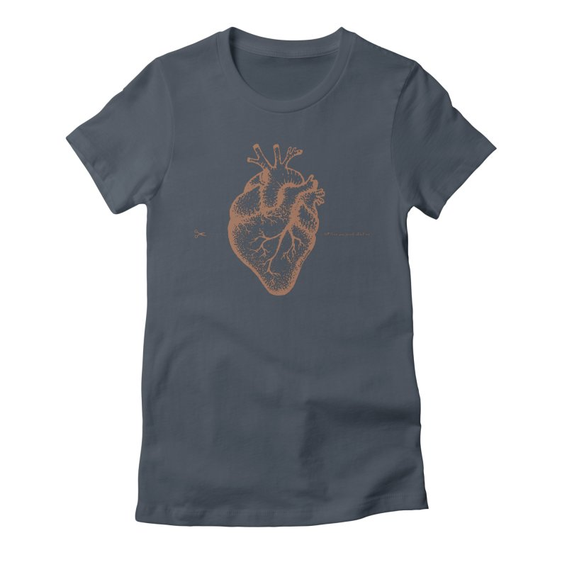 FLATLINE HEART Women's T-Shirt by TODD SARVIES BAND APPAREL