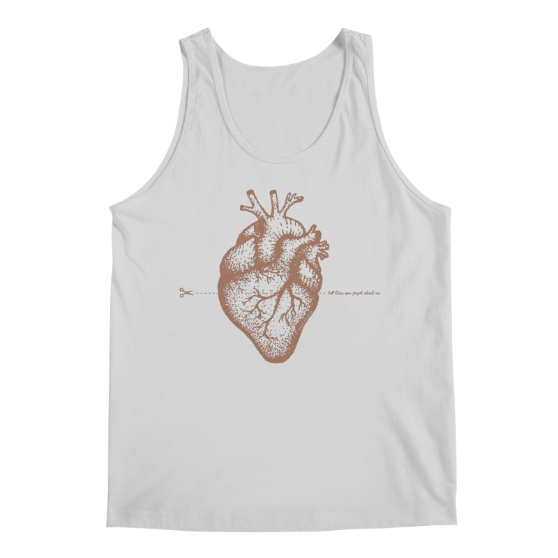 FLATLINE HEART Men's Tank by TODD SARVIES BAND APPAREL