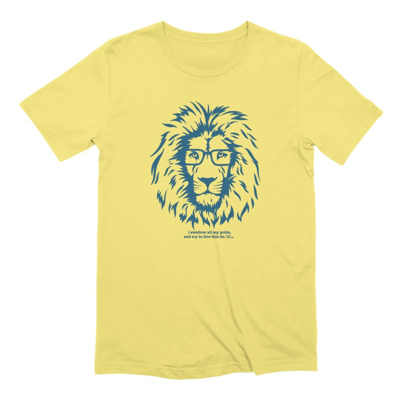 GOING NOWHERE LION Men's T-Shirt by TODD SARVIES BAND APPAREL