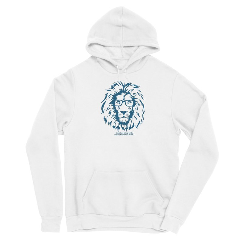 GOING NOWHERE LION Men's Pullover Hoody by TODD SARVIES BAND APPAREL