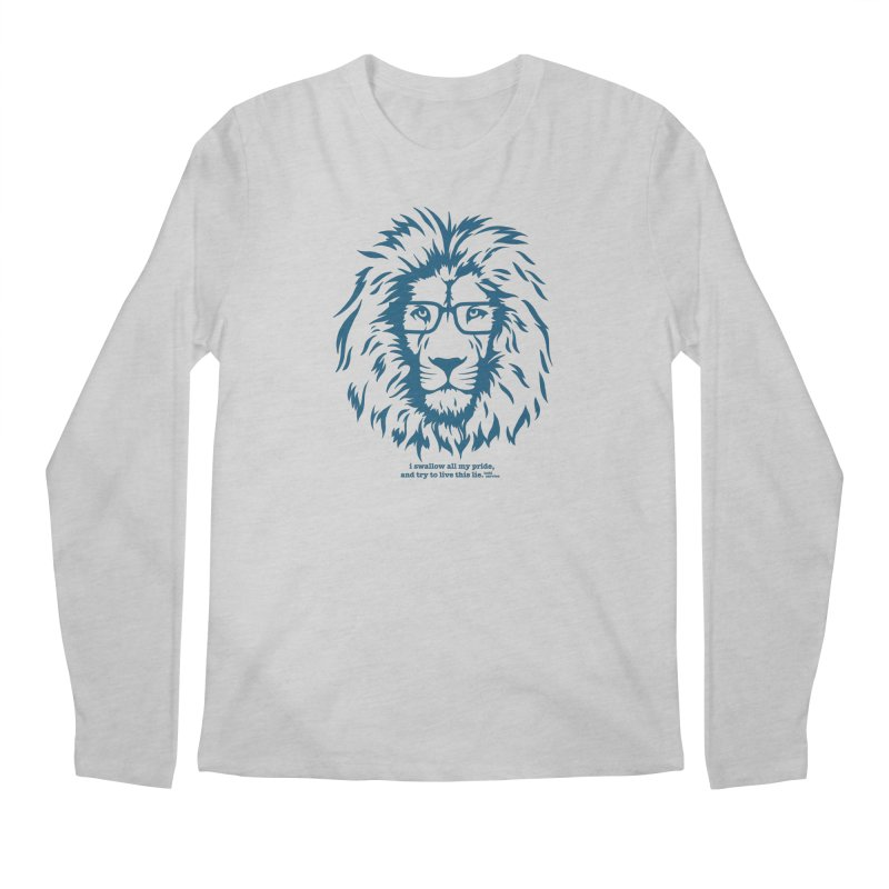 GOING NOWHERE LION Men's Longsleeve T-Shirt by TODD SARVIES BAND APPAREL