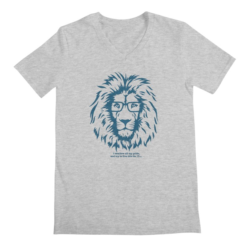 GOING NOWHERE LION Men's V-Neck by TODD SARVIES BAND APPAREL