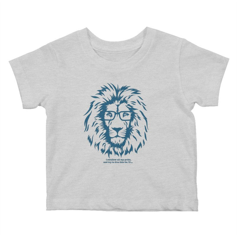 GOING NOWHERE LION Kids Baby T-Shirt by TODD SARVIES BAND APPAREL