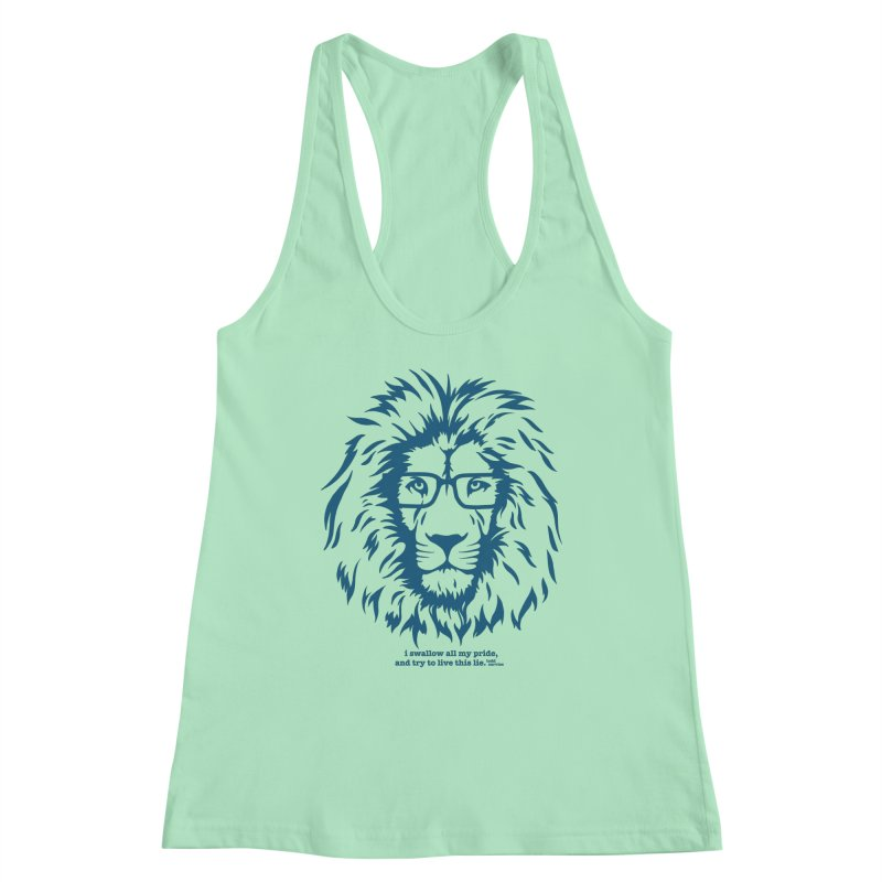 GOING NOWHERE LION Women's Tank by TODD SARVIES BAND APPAREL