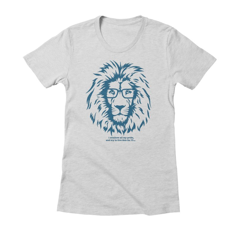 GOING NOWHERE LION Women's T-Shirt by TODD SARVIES BAND APPAREL