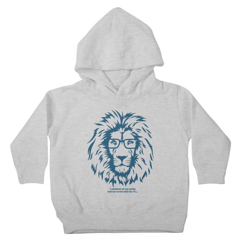 GOING NOWHERE LION Kids Toddler Pullover Hoody by TODD SARVIES BAND APPAREL