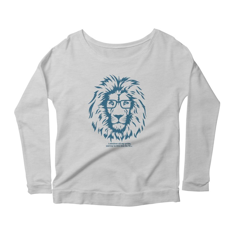 GOING NOWHERE LION Women's Longsleeve T-Shirt by TODD SARVIES BAND APPAREL