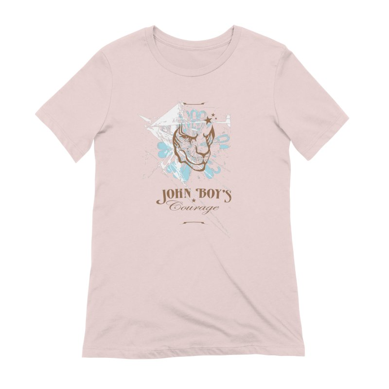 JBC GRAPHIC LION Women's Extra Soft T-Shirt by TODD SARVIES BAND APPAREL