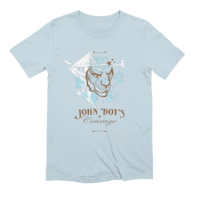 JBC GRAPHIC LION Men's Extra Soft T-Shirt by TODD SARVIES BAND APPAREL