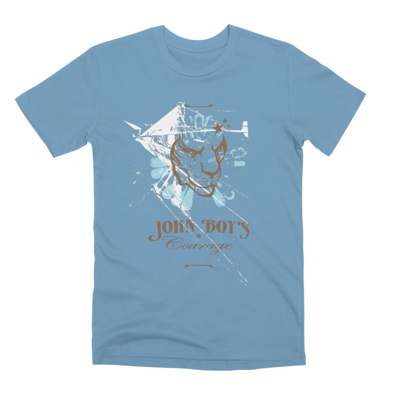 JBC GRAPHIC LION Men's Premium T-Shirt by TODD SARVIES BAND APPAREL