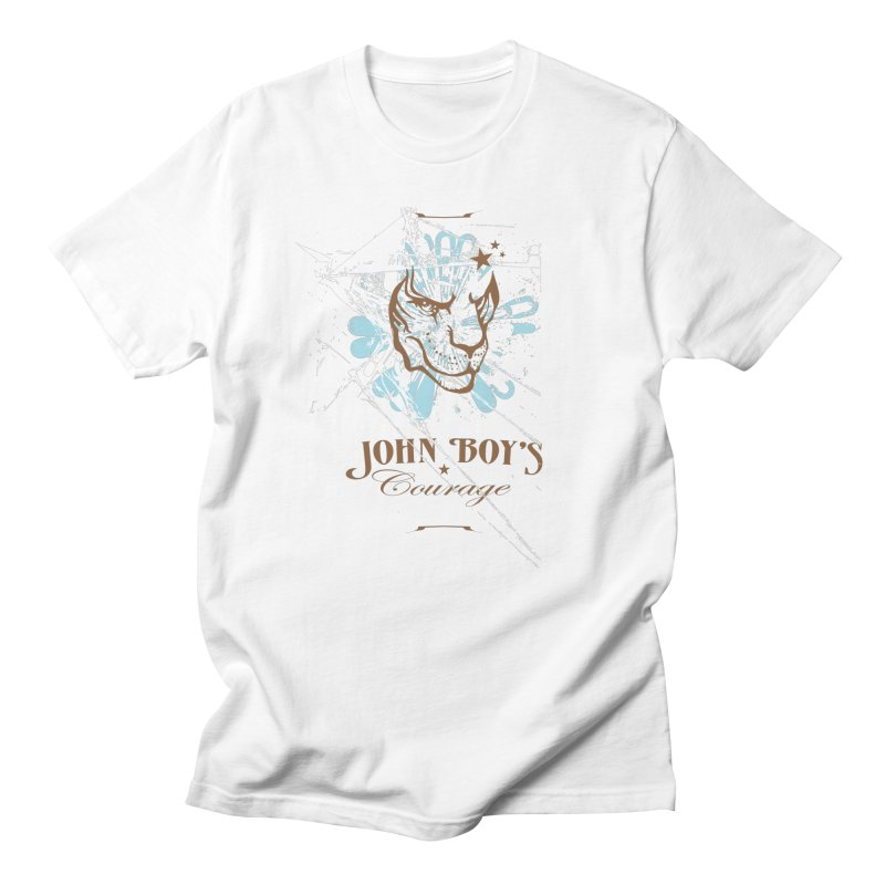 JBC GRAPHIC LION in Men's Regular T-Shirt White by TODD SARVIES BAND APPAREL