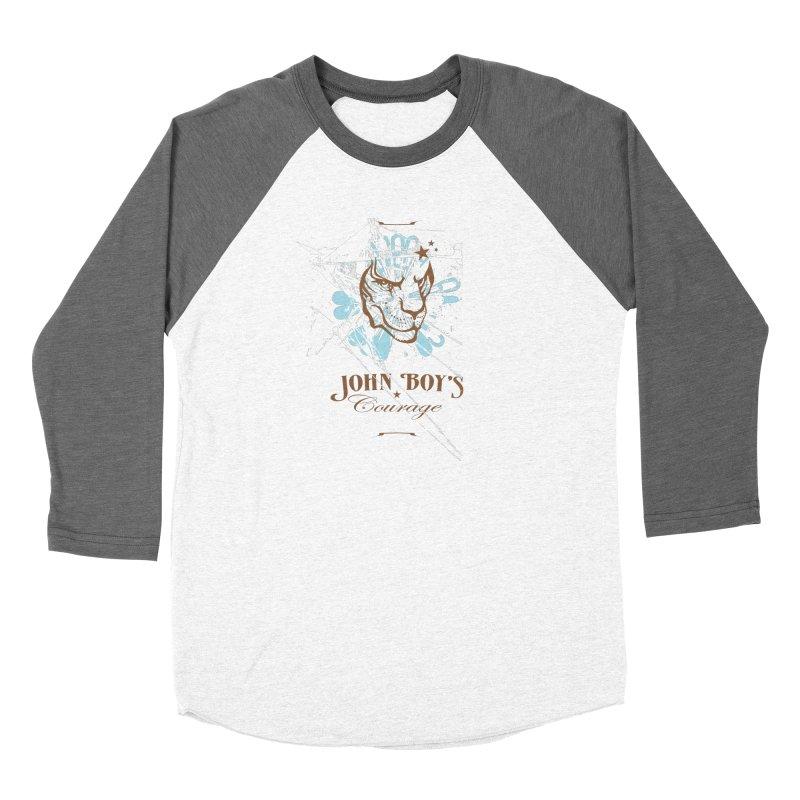 JBC GRAPHIC LION Men's Baseball Triblend Longsleeve T-Shirt by TODD SARVIES BAND APPAREL