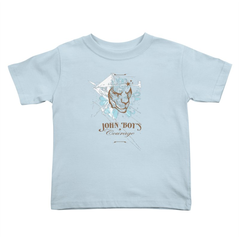 JBC GRAPHIC LION Kids Toddler T-Shirt by TODD SARVIES BAND APPAREL