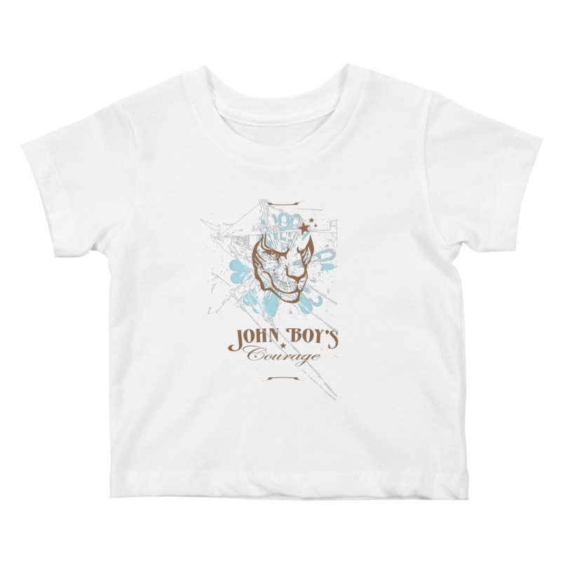 JBC GRAPHIC LION Kids Baby T-Shirt by TODD SARVIES BAND APPAREL
