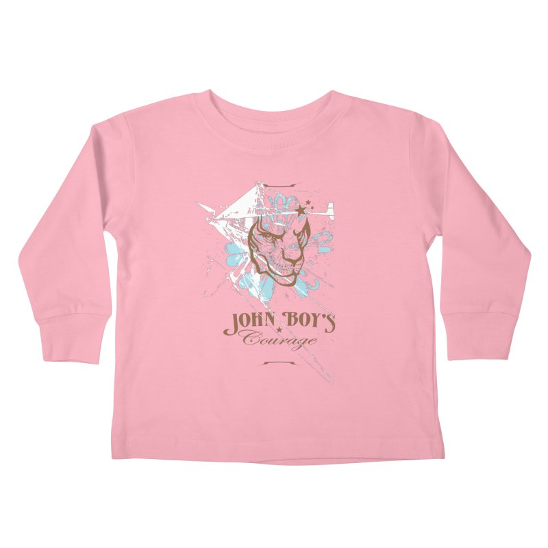 JBC GRAPHIC LION Kids Toddler Longsleeve T-Shirt by TODD SARVIES BAND APPAREL
